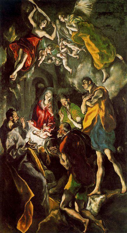Поклонение пастухов (Эль Греко)