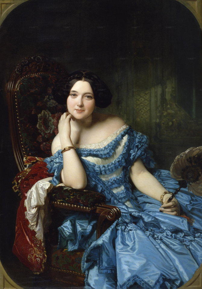 Амалия де Льано и Дотрес, графиня Вильчес (Мадрасо и Кунц, Федерико де)