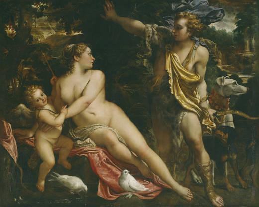 Венера, Адонис и Купидон (Карраччи)