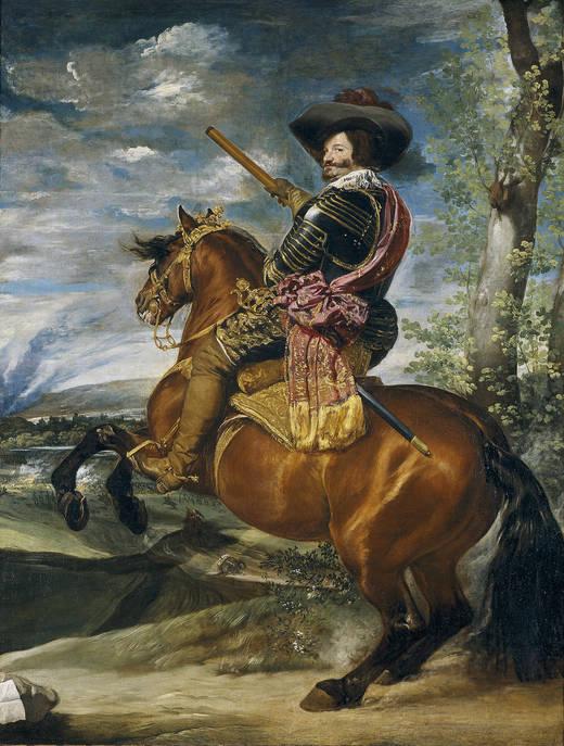 Дон Гаспар де Гусман, граф Герцог Оливаресский (Веласкес)
