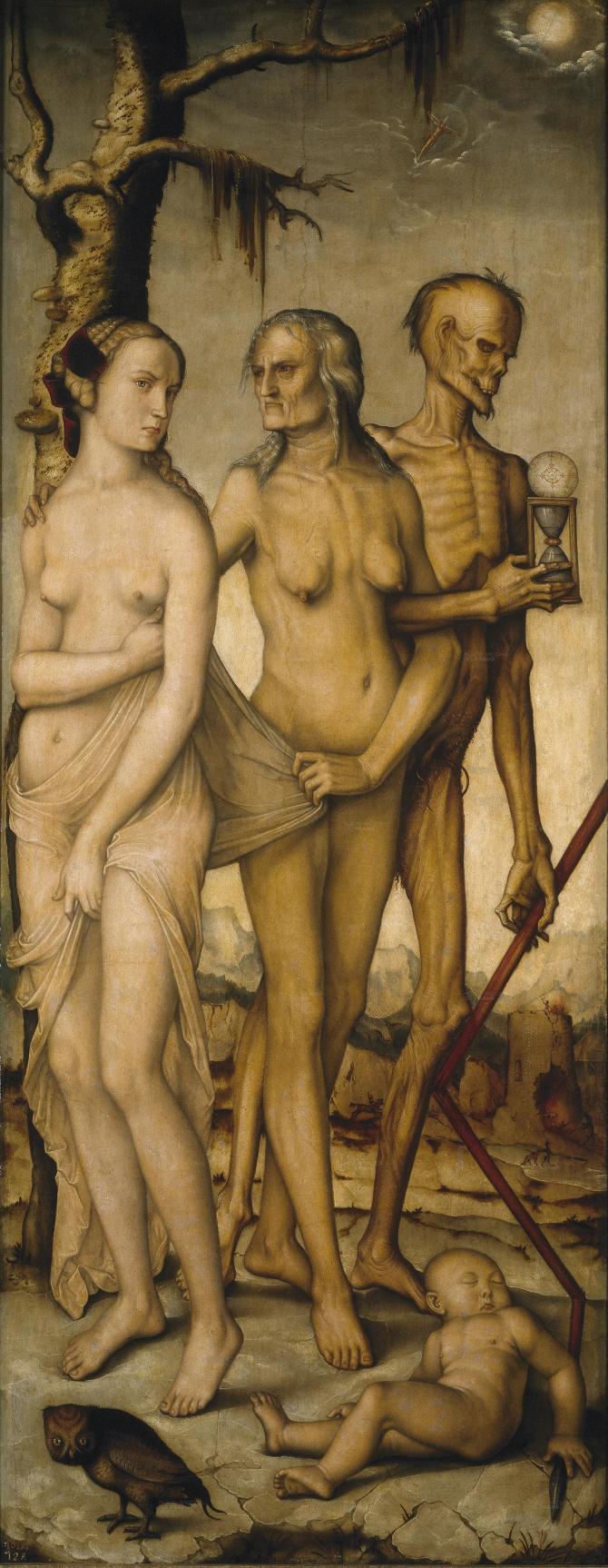 Века и смерть (Бальдунг Гриен, Ганс)