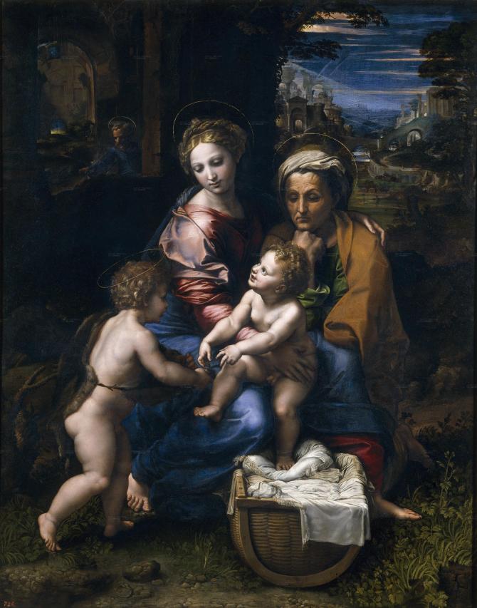 Святое Семейство или Жемчужина (Рафаэль)