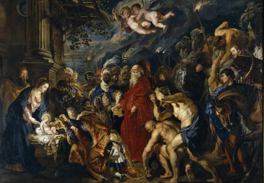 Поклонение королей (Рубенс)