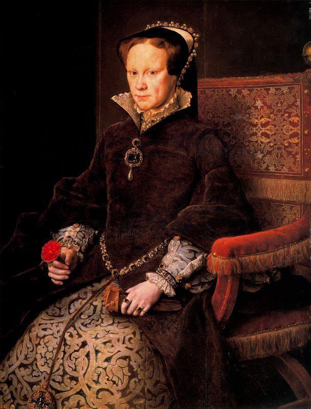 Мария Тюдор, королева Англии (Антонио Моро)