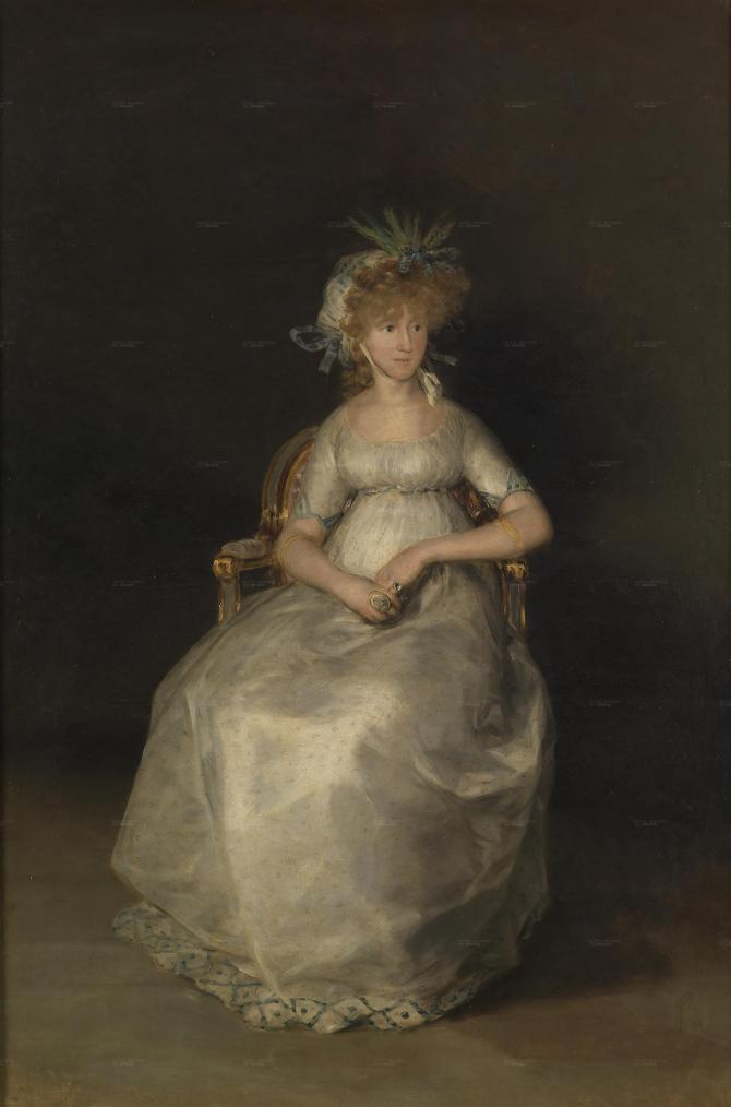 Графиня Чинчона (Гойя)