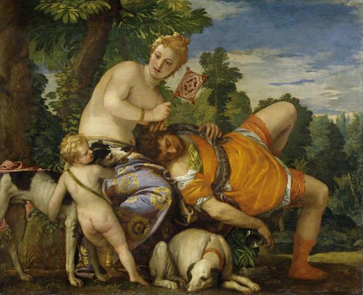 Венера и Адонис (Веронезе)