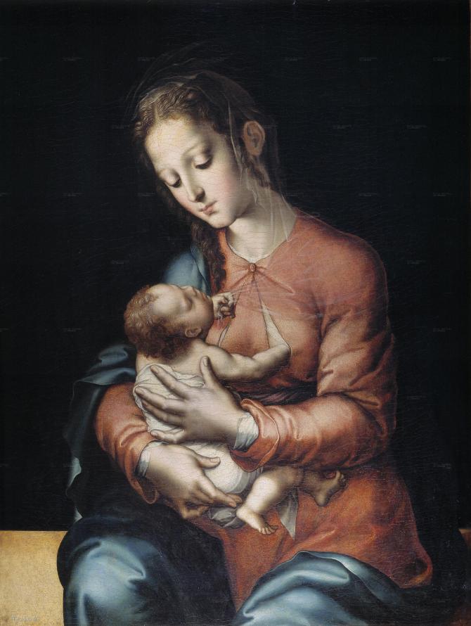 Богоматерь с младенцем (Моралес, Луис де)
