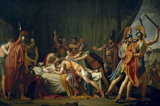 Смерть Вириато (Хосе де Мадрасо и Агудо)