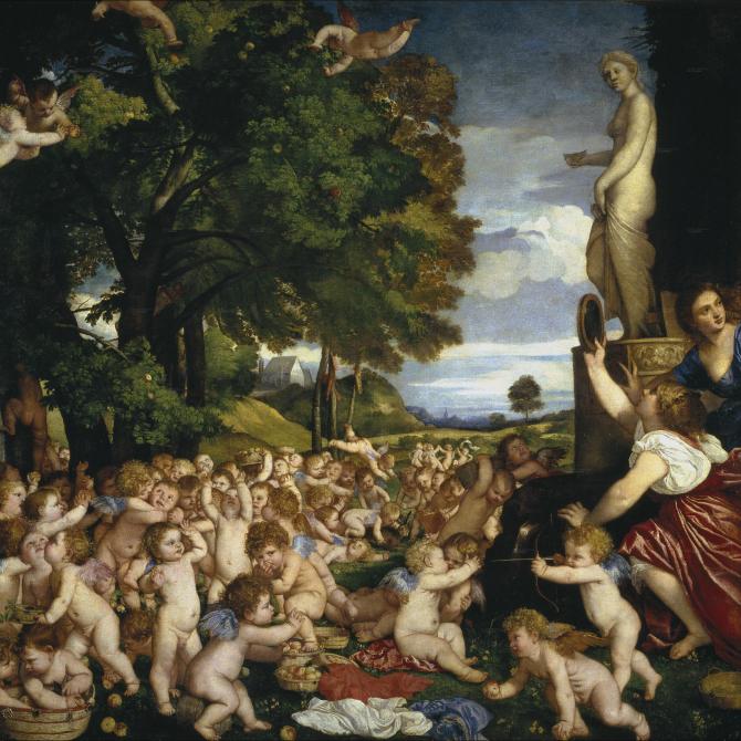 Подношение Венере (Тициан)