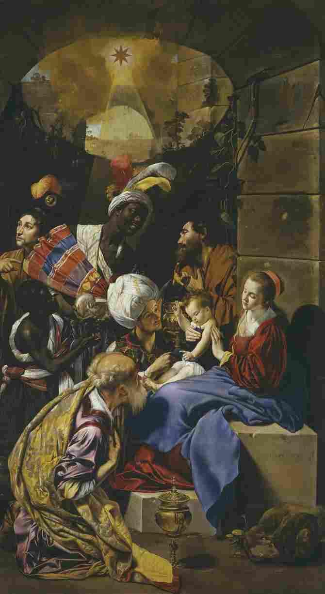 Adoration of the Kings (Maíno, Fray Juan Bautista)