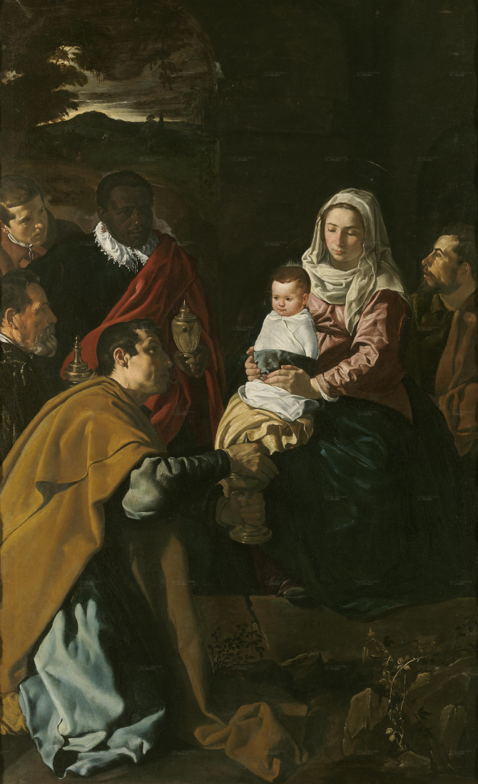 Adoration of the kings (Velázquez)