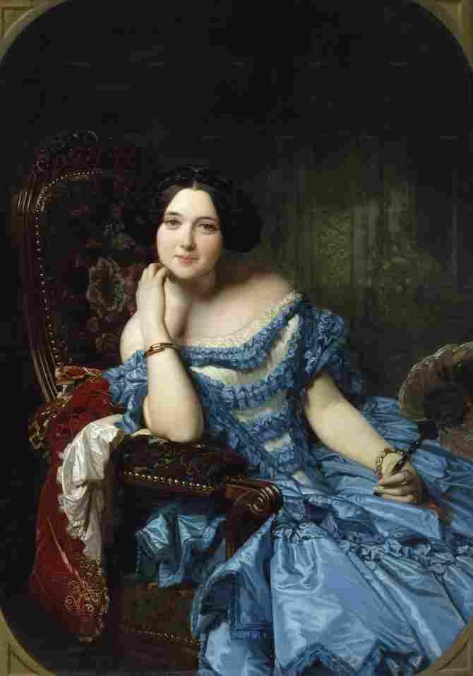 Amalia de Llano y Dotres, countess of Vilches (Madrazo and Kuntz, Federico de)