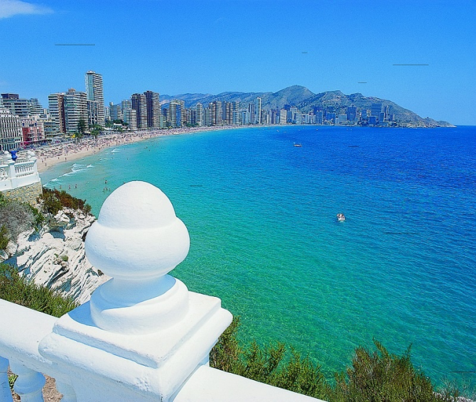 Benidorm Levante Beach (Alicante)