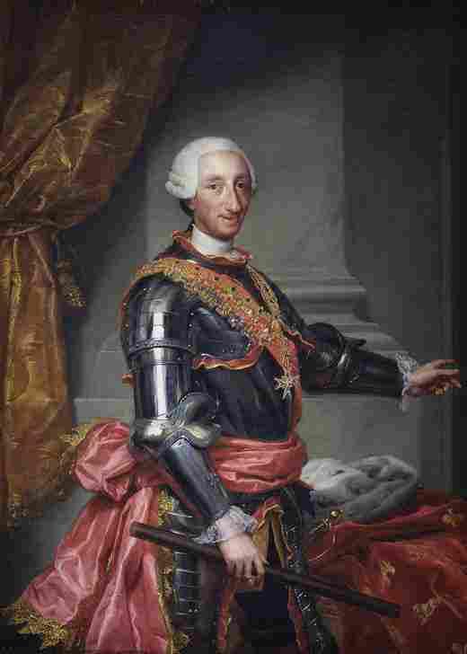 Carlos III (Mengs)