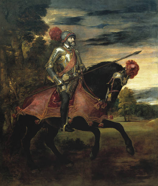 Carlos V in Mühlberg (Titian)