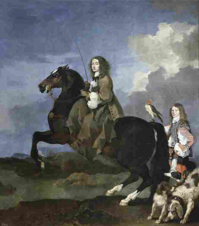 Cristina from Sweden on horseback (Bourdon, Sebastien)