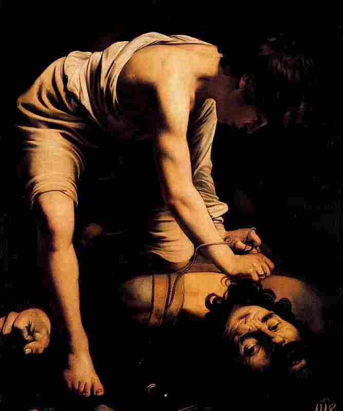 David winner of Goliath (Caravaggio)