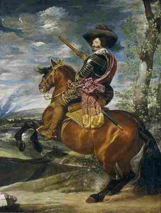 Don Gaspar de Guzmán, count-Duke of Olivares (Velázquez)