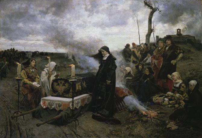 Doña Juana la Loca (Pradilla y Ortiz, Francisco)