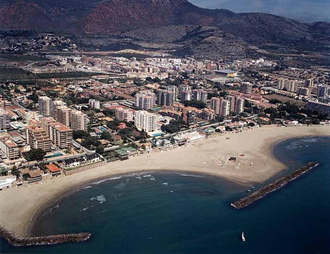 Els Terrers beach in Benicàssim (Castellón)
