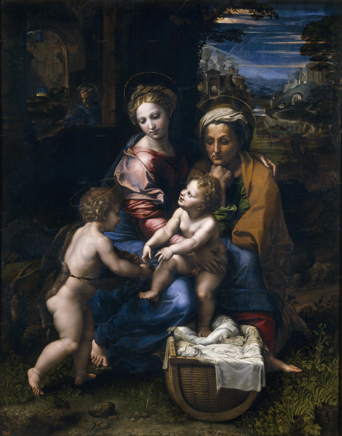 Holy Family, or the Pearl (Rafael)