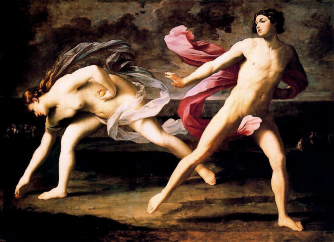 Hypomenes and Atlanta (Guido Reni)