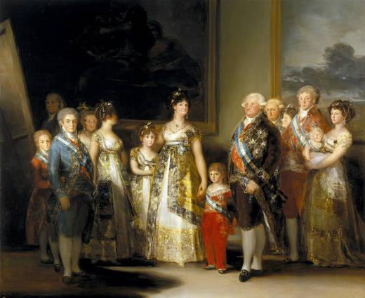 Семья Карлоса IV (Гойя)