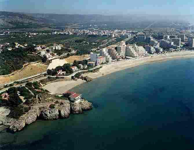 La Concha de Oropesa del Mar beach (Castellón)