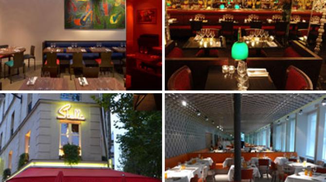 Los mejores restaurantes de París