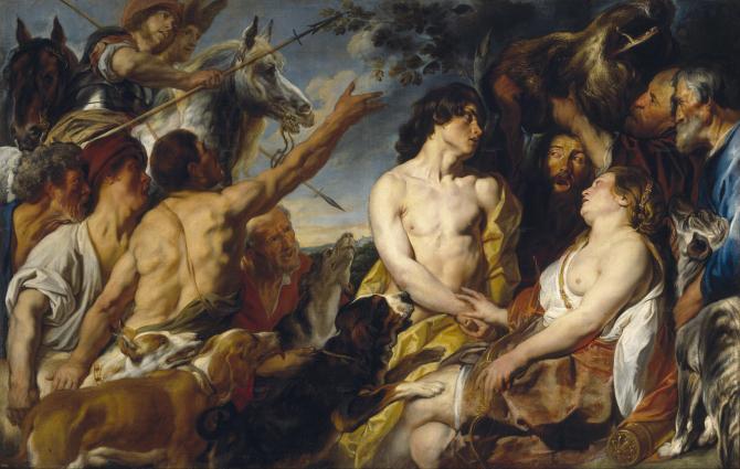 Meleagro and Atalanta (Jordaens)