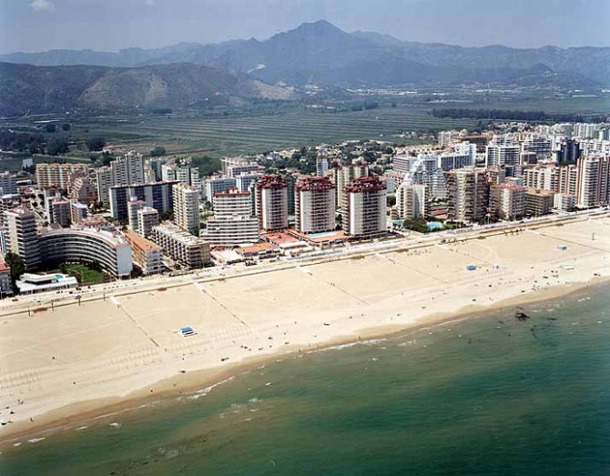 North Beach of Gandia (Valencia)