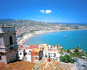 North Beach of Peñíscola (Castellón)