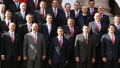 Os melhores governadores de estado do México