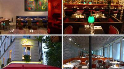 Os melhores restaurantes em Paris