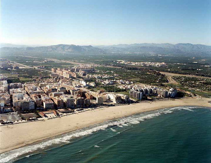 Praia Canet d'En Berenguer (Valência)