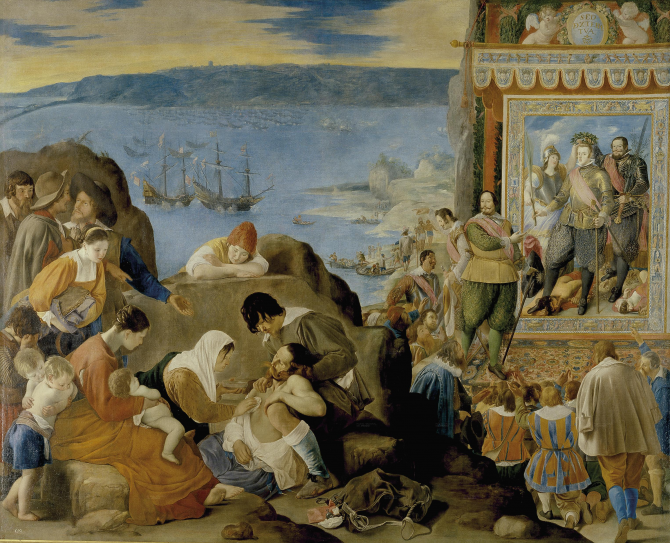Recovery of the Bay of All Saints (Maíno, Fray Juan Bautista)