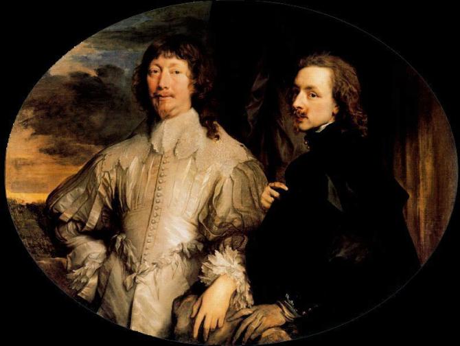 Sir Endymion Porter and Anton van Dyck (Van Dyck)