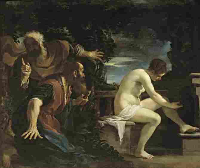 Susana and the Elders (Guercino)