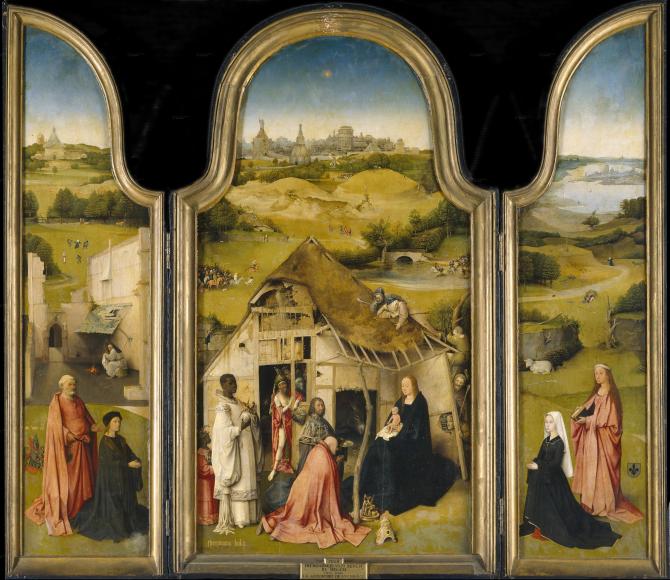 The Adoration of the Magi (El Bosco)