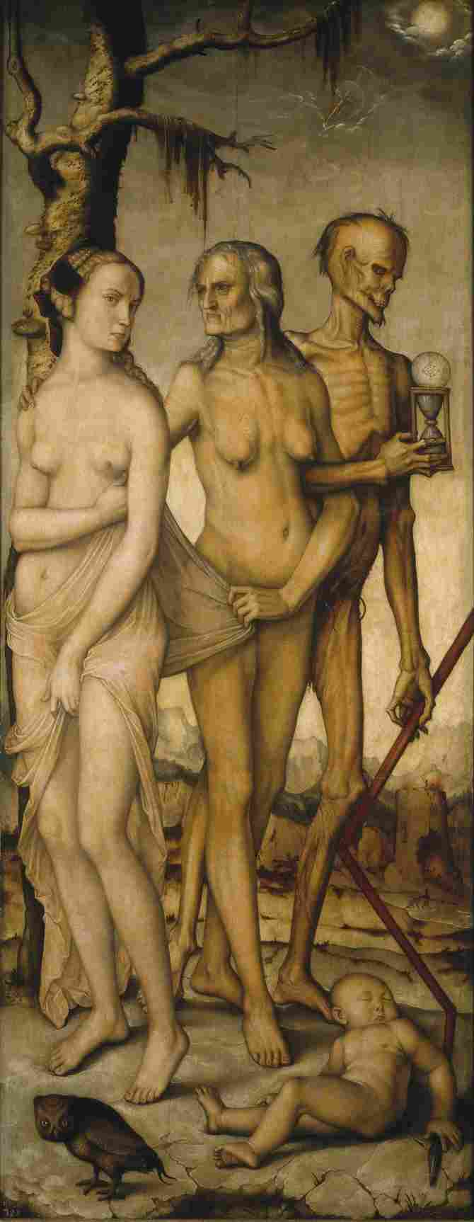 The Ages and Death (Baldung Grien, Hans)