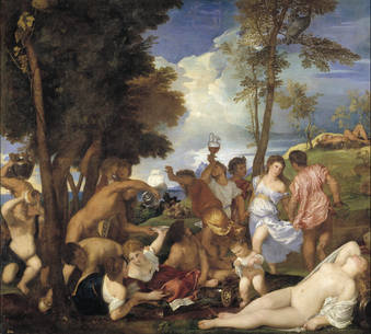 The Bacchanal of the Andrians (Titian)