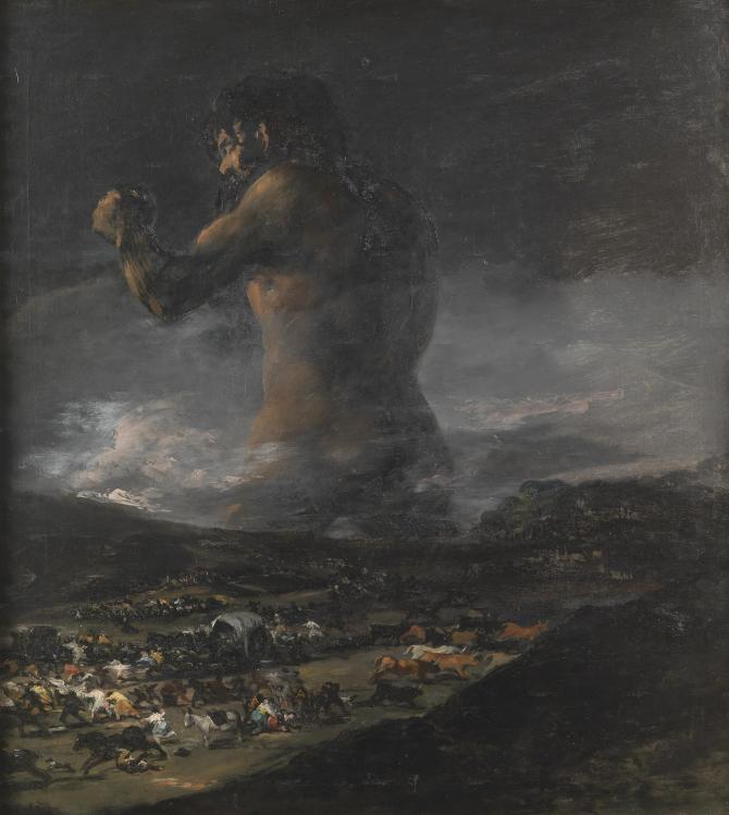 The Colossus (Goya)