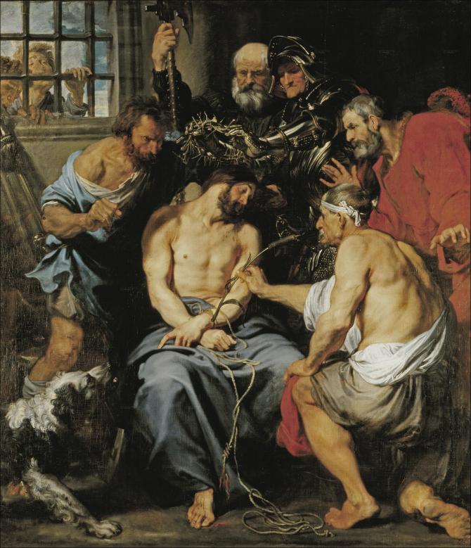The coronation of thorns (Van Dyck)