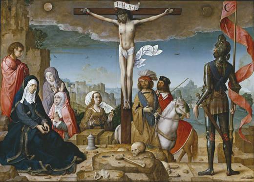 The Crucifixion (Juan de Flandes)