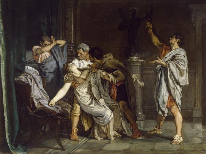 The death of Lucrecia (Rosales, Eduardo)