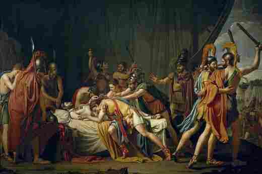 The death of Viriato (José de Madrazo y Agudo)