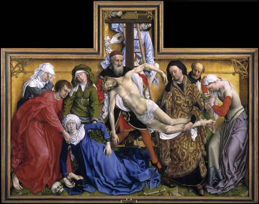 The Descent (Van der Weyden)