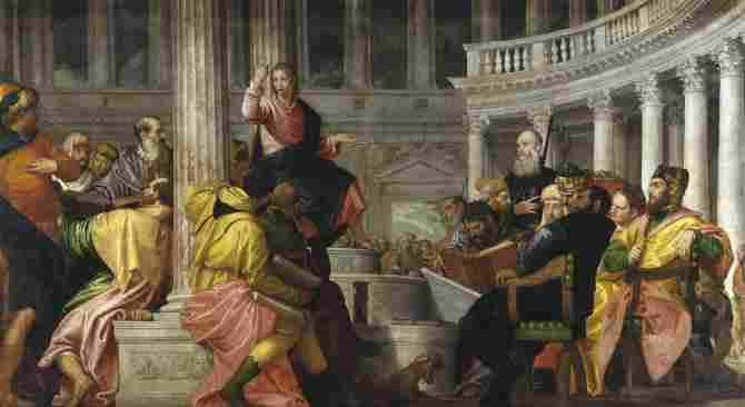 The dispute with the doctors in the Temple (Veronese)