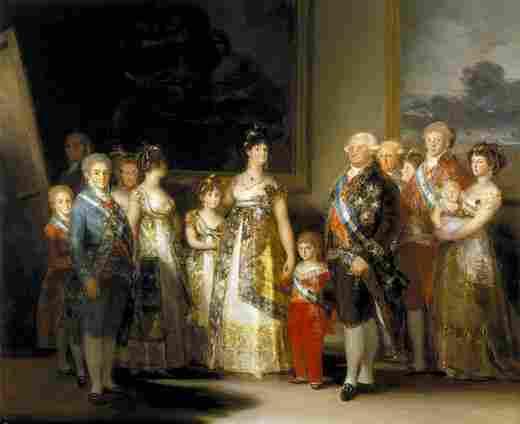 The Family of Carlos IV (Goya)