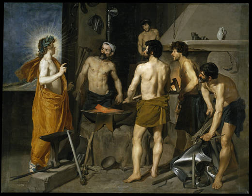 The Forge of Vulcano (Velázquez)